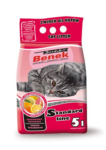 Żwirki bentonitowe dla kota