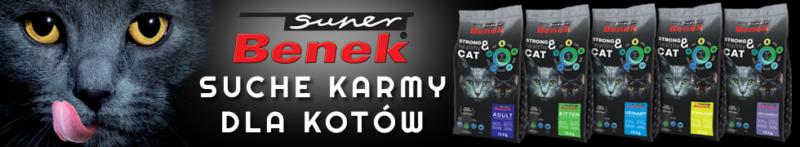 Suche karmy dla kota Super Benek